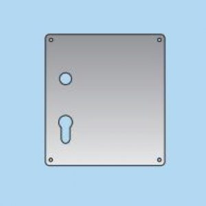 Lever on Profile Lock Plate - 20mm