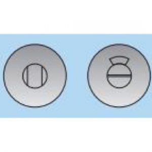 Bathroom Turn and Indicator on 10mm Deep Rose