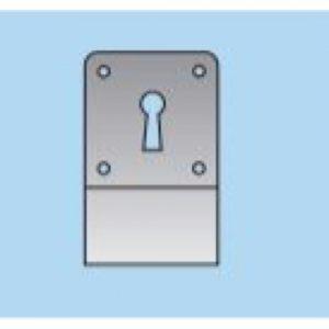 Keyhole Cylinder Pull