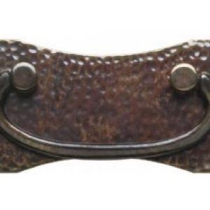 Hammered Plate Handle