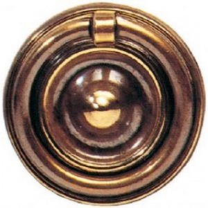 Solid Brass Ring Pull Handle