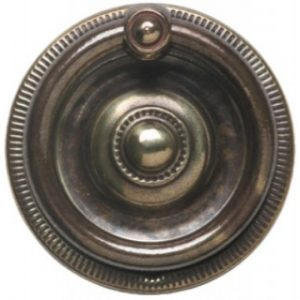 Stamped Brass Ring Pull Handle