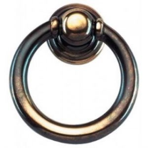 Antique Brass Ring Pull Handle