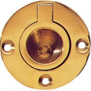 Circular Brass Flush Rings