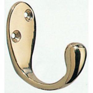 Brass Wardrobe Hook