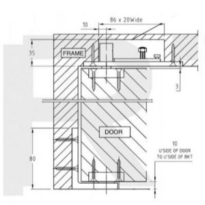 H131-400 Hi-Load Pivot Set