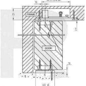 H131-401 Hi-Load Pivot Set
