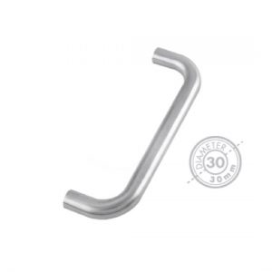 "1200mm Bolt Through ""D"" Pull Handle (GRADE 304)"