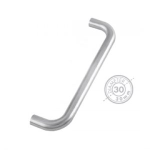"1800mm Bolt Through ""D"" Pull Handle (GRADE 304)"