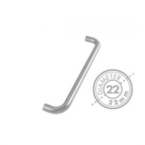 "300mm Bolt Through ""D"" Pull Handle (GRADE 201)(22mm Diameter)"