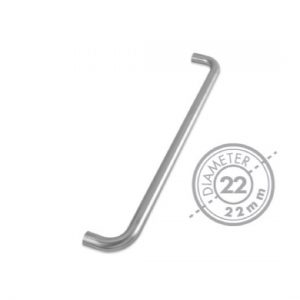 "425mm Bolt Through ""D"" Pull Handle (GRADE 201)(22mm Diameter)"