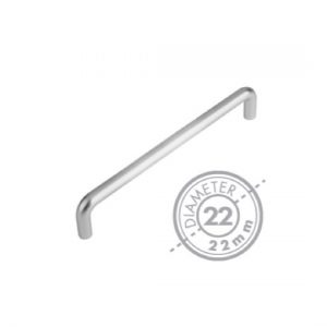 "425mm Bolt Through ""D"" Pull Handle(22mm Diameter)"