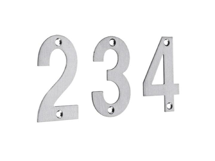 Numerals (102mm)