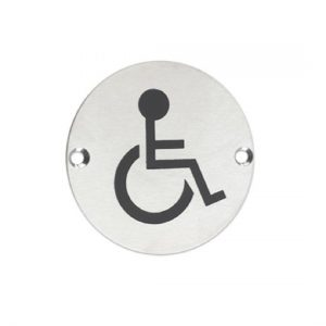 Disabled Door Sign