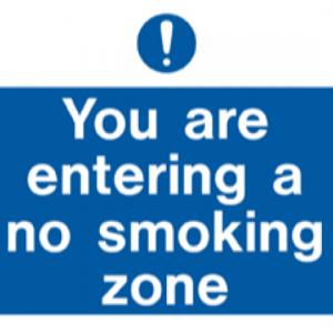 You Are Entering a No Smoking Zone