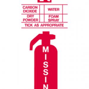 Missing Extinguisher