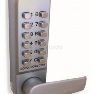 Easicode Free Turning Lever handle Keypad, Lever Handle Inside (Non Holdback), 60mm Latch (BL2401)