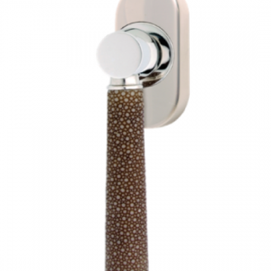 Turnstyle Combination Amalfine Shagreen Tube Oval Window Handle