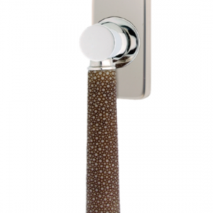 Turnstyle Combination Amalfine Shagreen Tube Rectangle Window Handle