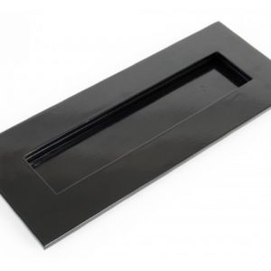 Small Letterplate - Black