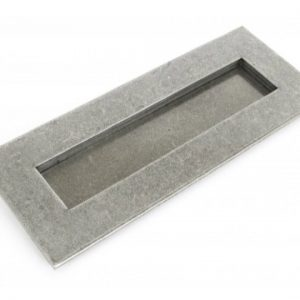 Small Letterplate - Pewter