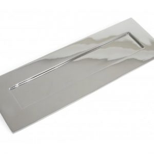 Large Letterplate - Polished Chrome